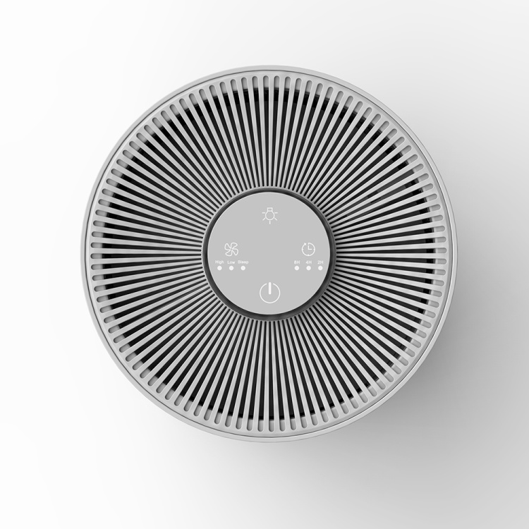 China Smart Home Room Personal Mini Portable Activated Carbon Hepa Filter Fresh Air Purifier
