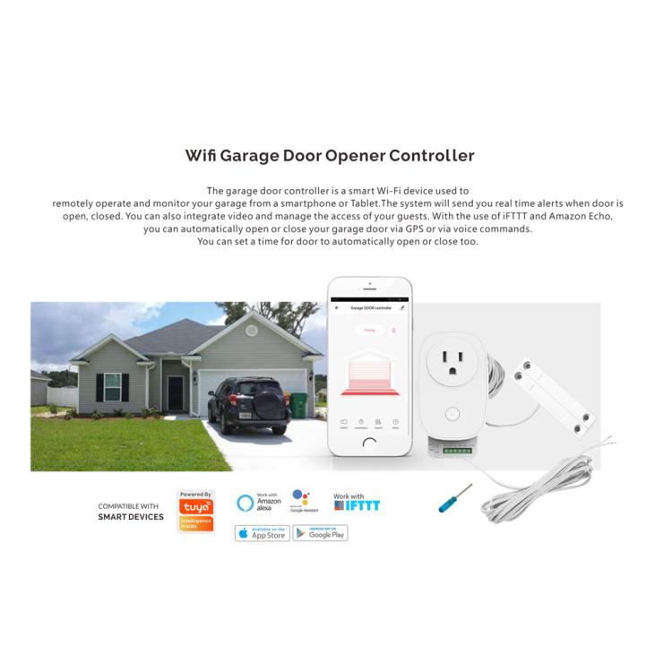 Wi-Fi Smart Garage Door Opener