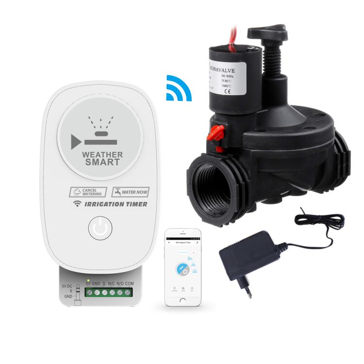 Wi-Fi Smart Irrigation Timer