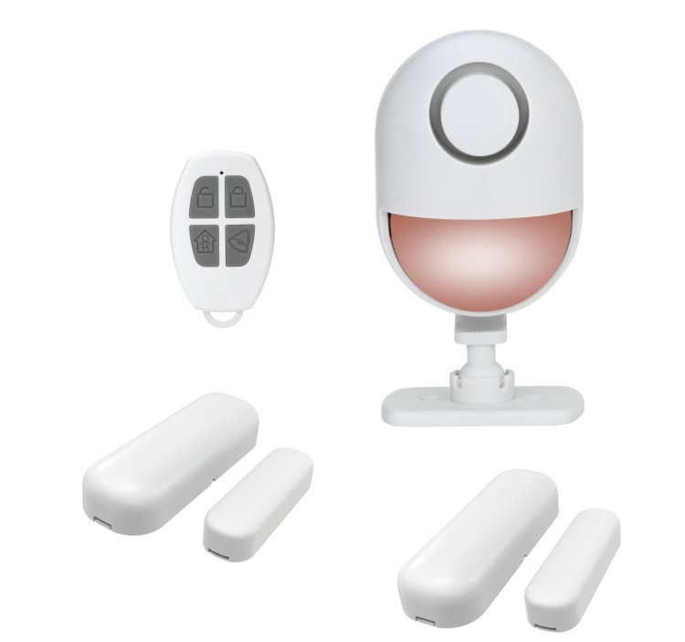 WIFI Standalone Motion Detector built-in Siren