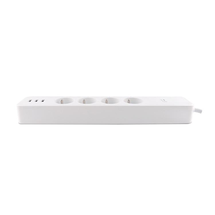 4 Way + USB French Standard 16A Wi-Fi Smart Power Strip Sub-control Function