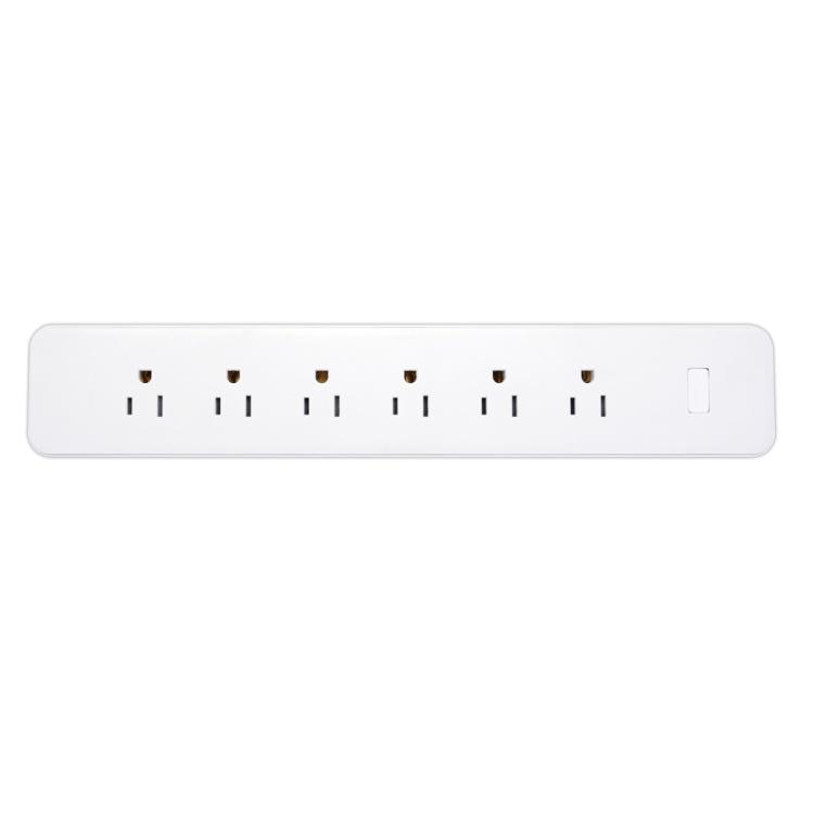6 Way US Standard 15A WiFi Smart Power Strip Sub-control