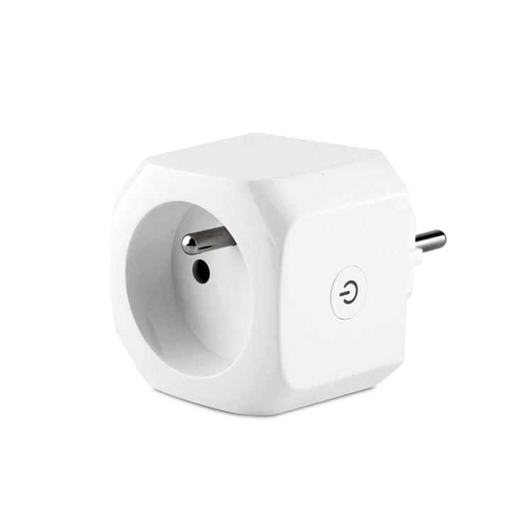 French Standard 16A WiFi Smart Socket Power Metering