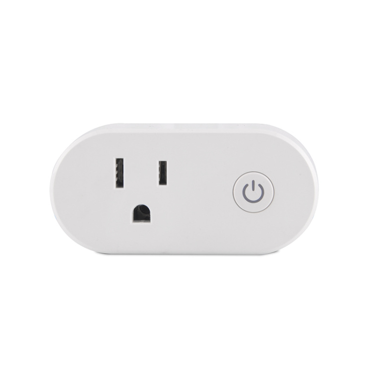 US Standard 15A Wi-Fi Smart Plug with Power Metering Function
