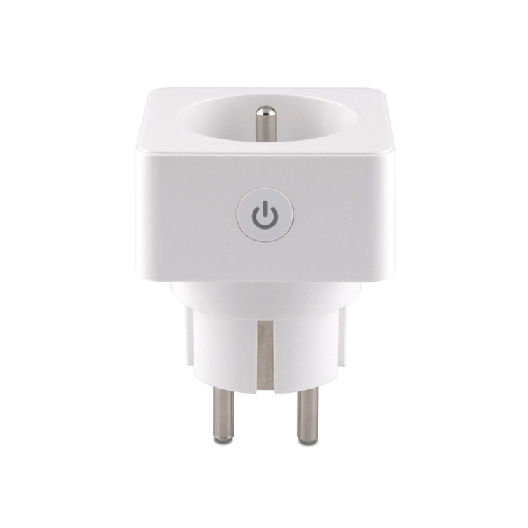 French Standard 16A Wi-Fi Smart Plug Socket With Power Metering Function