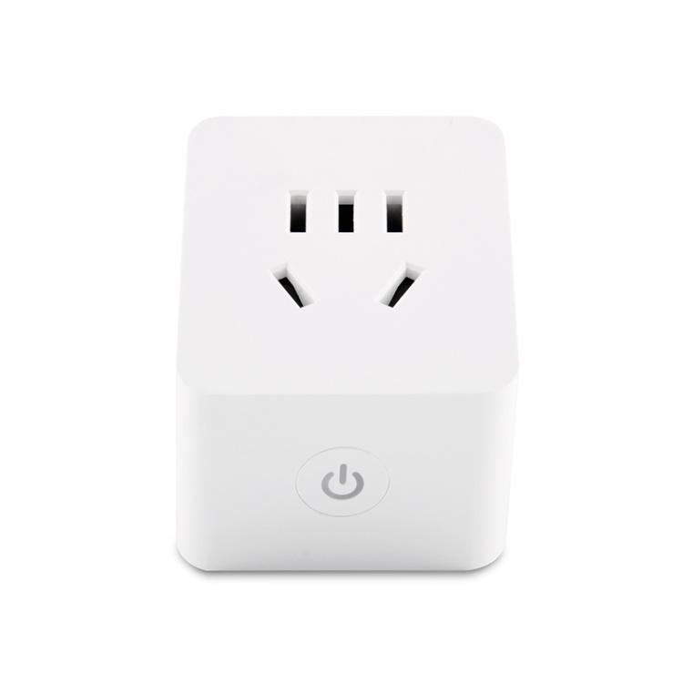 10A Chinese Standard Smart Wi-Fi Plug with Socket Power Metering Function