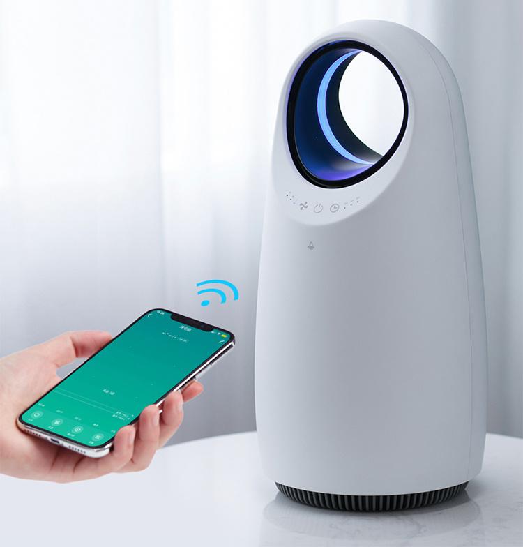 Smart Home Room Carbon HEPA Filter Mini Portable Air Purifier