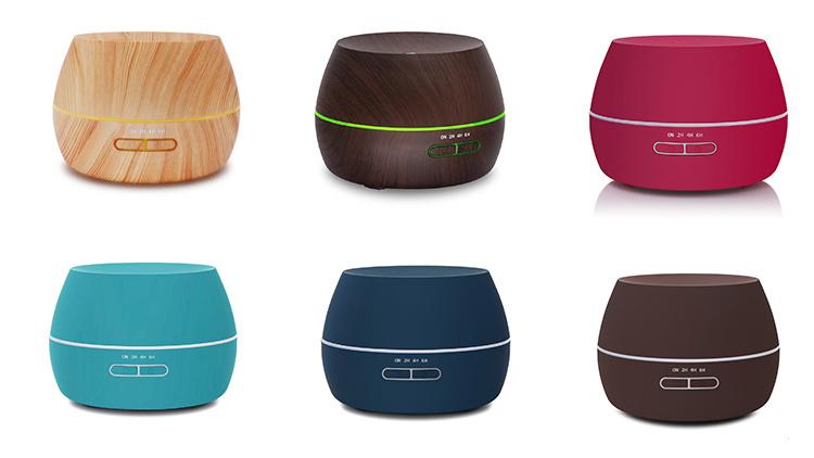 300ml Mini Portable Air Humidifier Ultrasonic Cool Mist Aroma Diffuser
