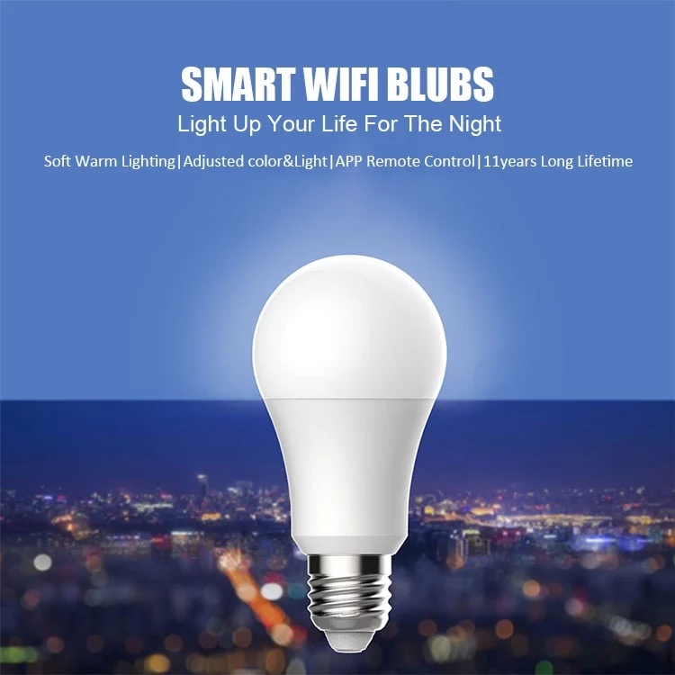 wifi A60 7W RGB Dimmable Tunable