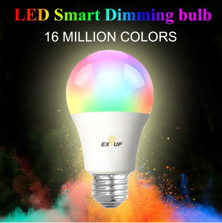 EXUP wifi smart bulb A60/A19 10W RGBCCT