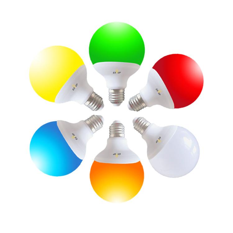 EXUP wifi smart bulb G95 12W RGBCW