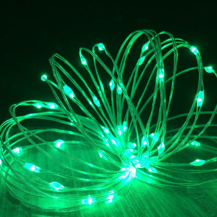 LED String Decorative Lights Flexible Copper Wire for Christmas Decor|USB Powered|80 LED 26.3FT(SSL)
