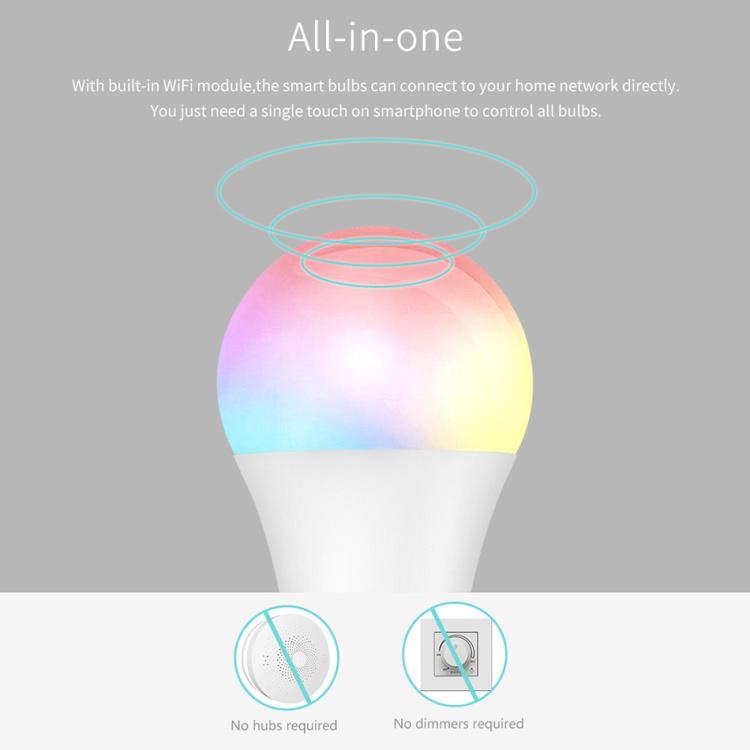 Wi-Fi Smart Light Bulb