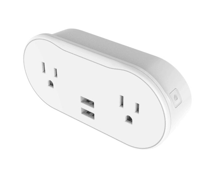 Smart Plug 2Sockets 2USB US Version
