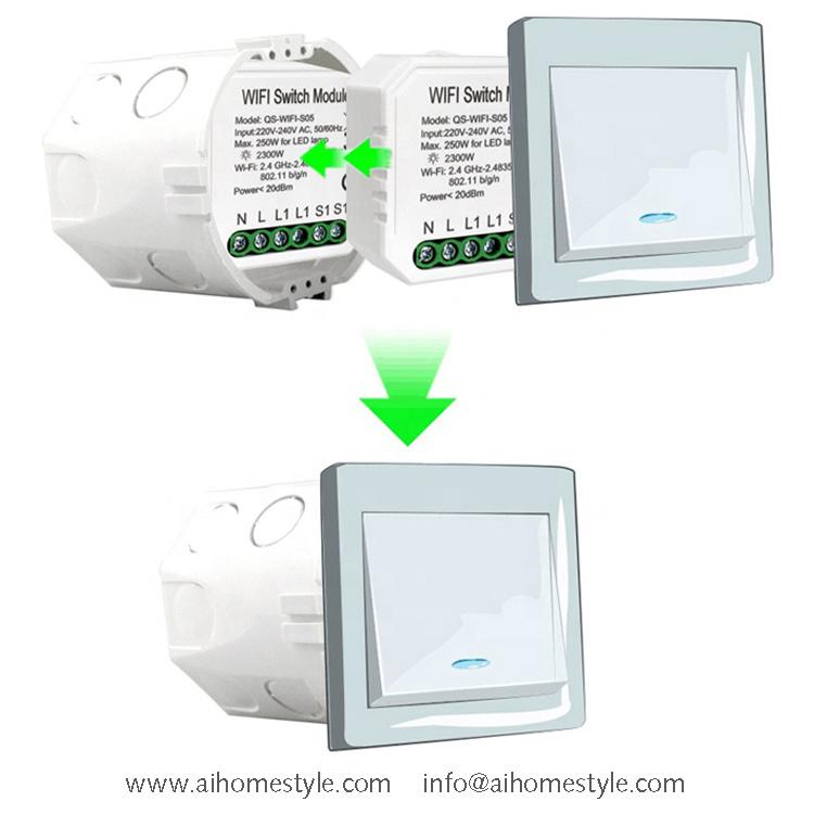 Wi-Fi Switch Module