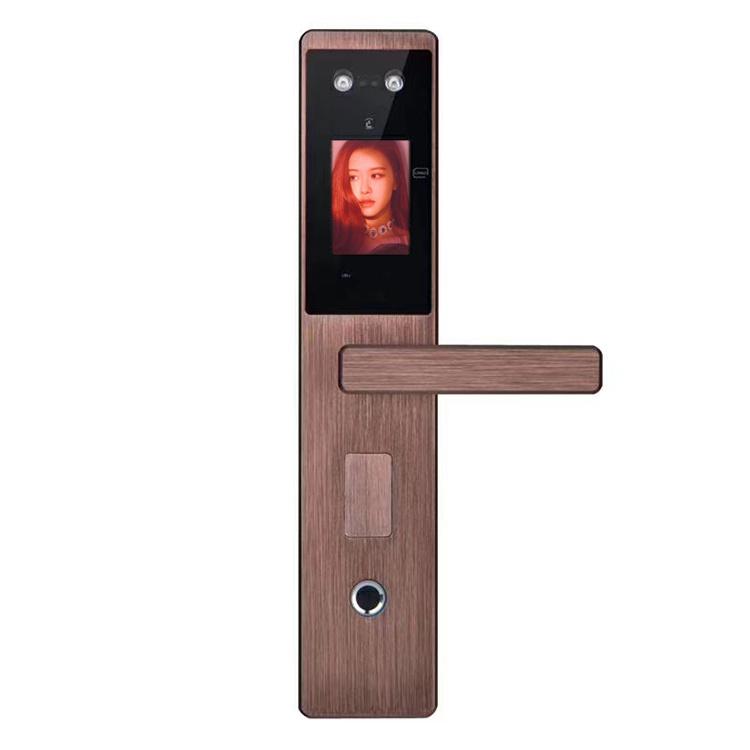 Aluminium Smart Face Recognition Cerradura Fingerprint Password Lock