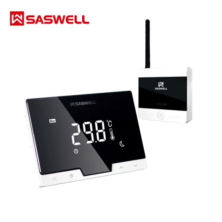 SASWELL Wi-Fi  And Wireless Gas Boiler Thermostat