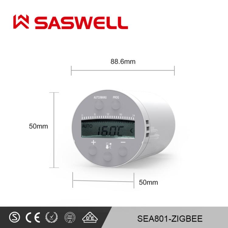Wifi  Programmable electronic radiator valve