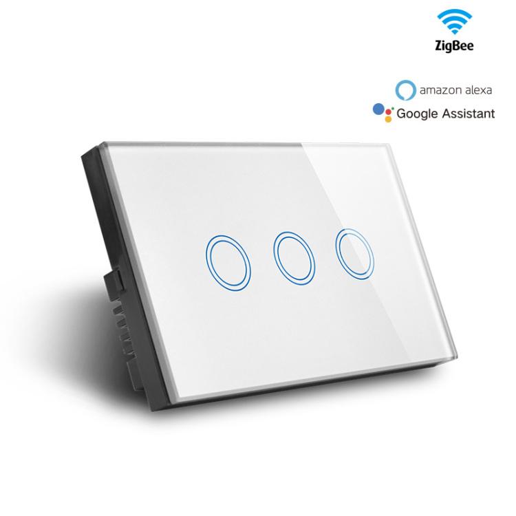 Zigbee 3gang Light Switch