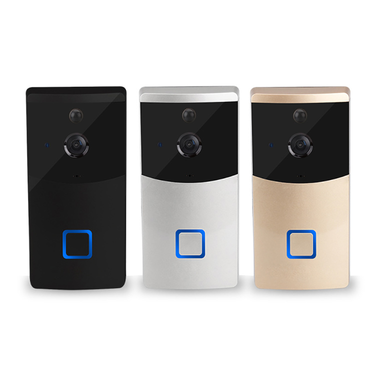 Danmini Wi-Fi Doorbell Video Door Phone Support Night Vision Motion Detection Cloud Storage