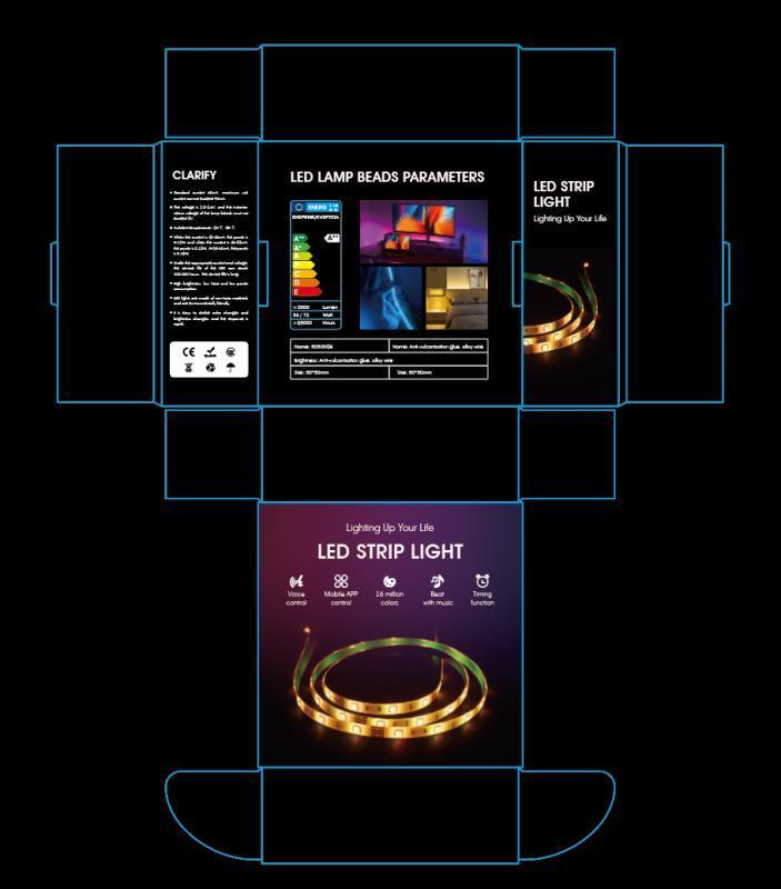 Smart Wi-Fi Music Light Strip
