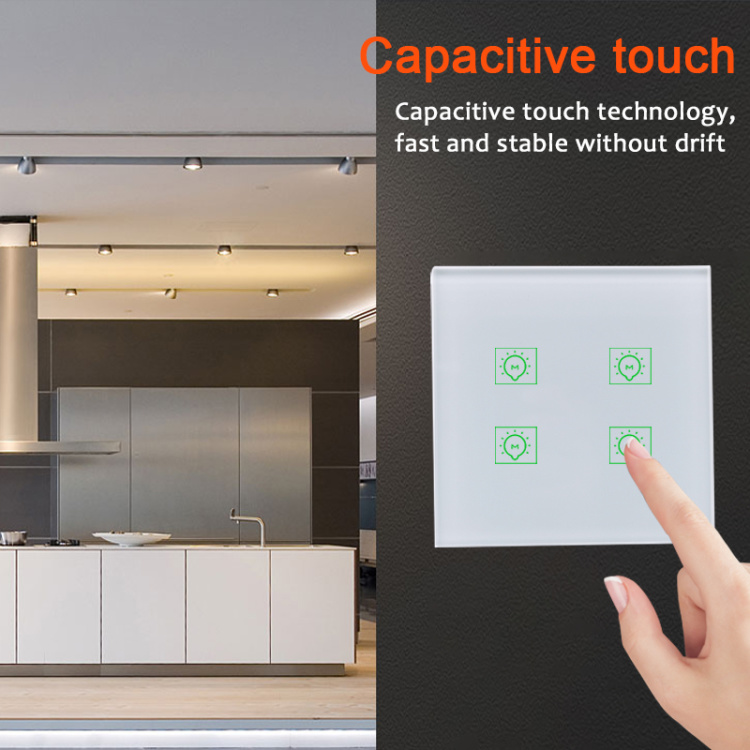Smart Lighting Switch 4 gang smart home switch wifi remote control
