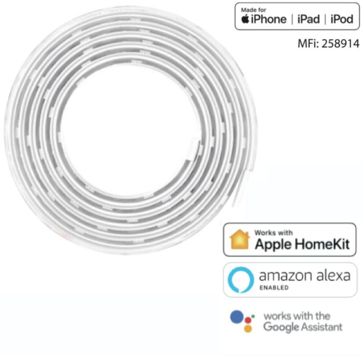 Offong Apple Homekit Smart Light Strip Wi-Fi