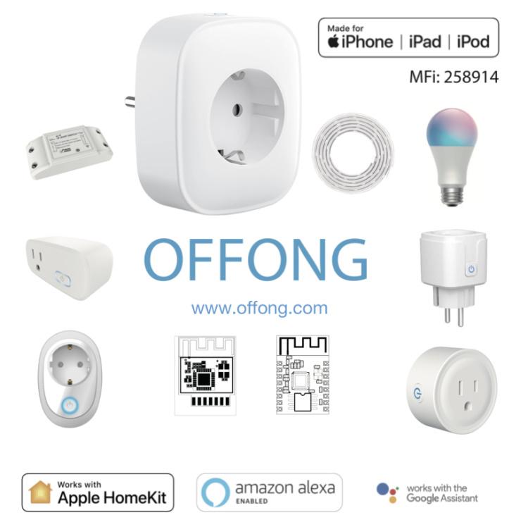 Offong Apple Homekit Smart Light Bulb Wi-Fi