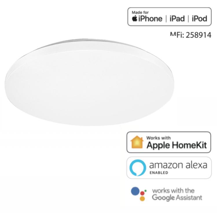Offong Apple Homekit Smart Ceiling lamp/Light Bulb Wi-Fi