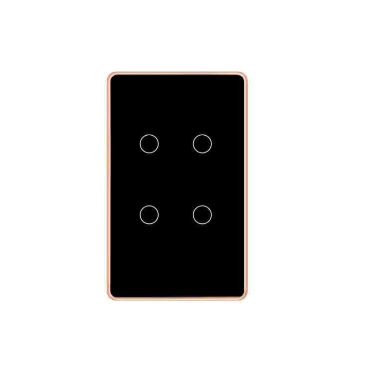 Smart Light Switch Wi-Fi 4 Gang Tuya Smart Home App Remote Control
