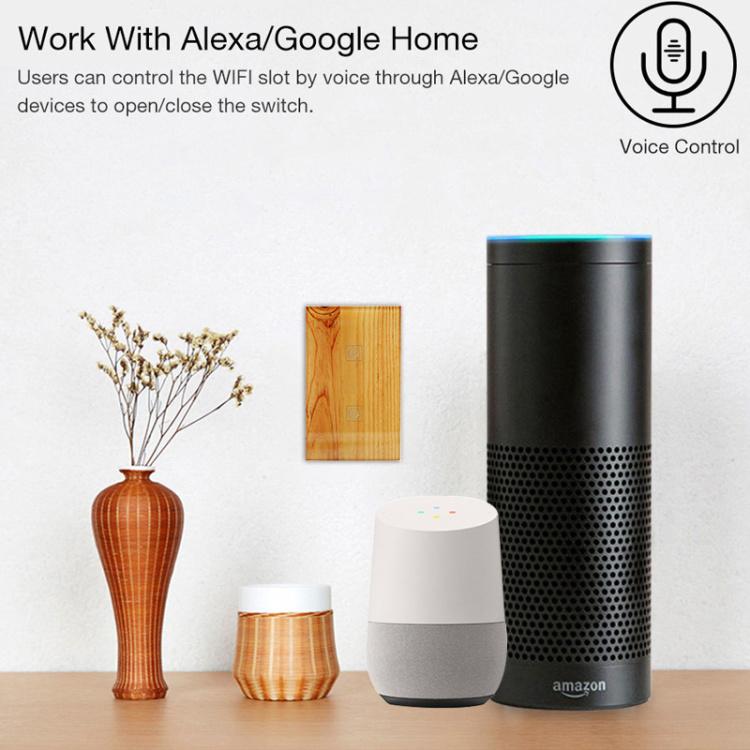 Smart Light Switch wifi 2 Gang 2 Way Google Home Alexa