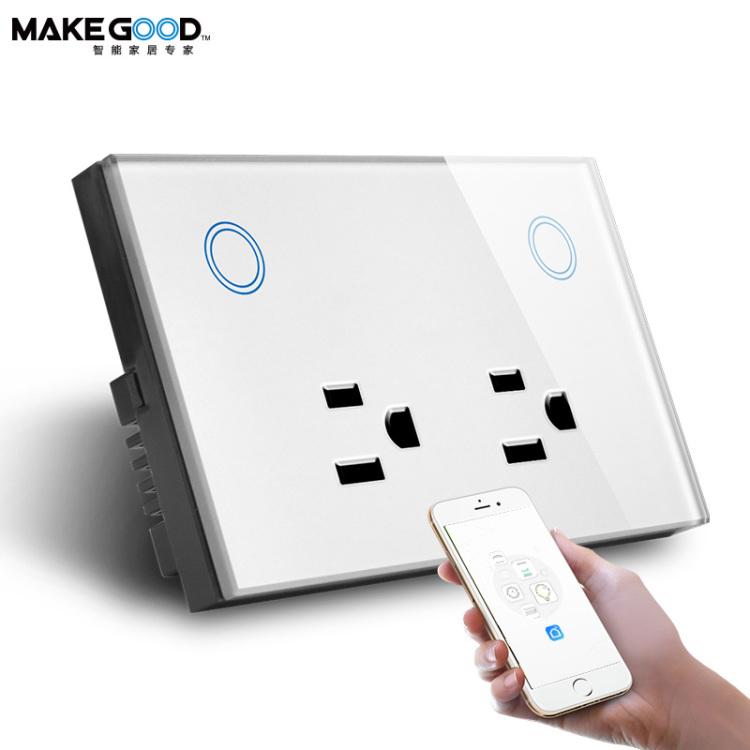 Wi-Fi Double Power Socket