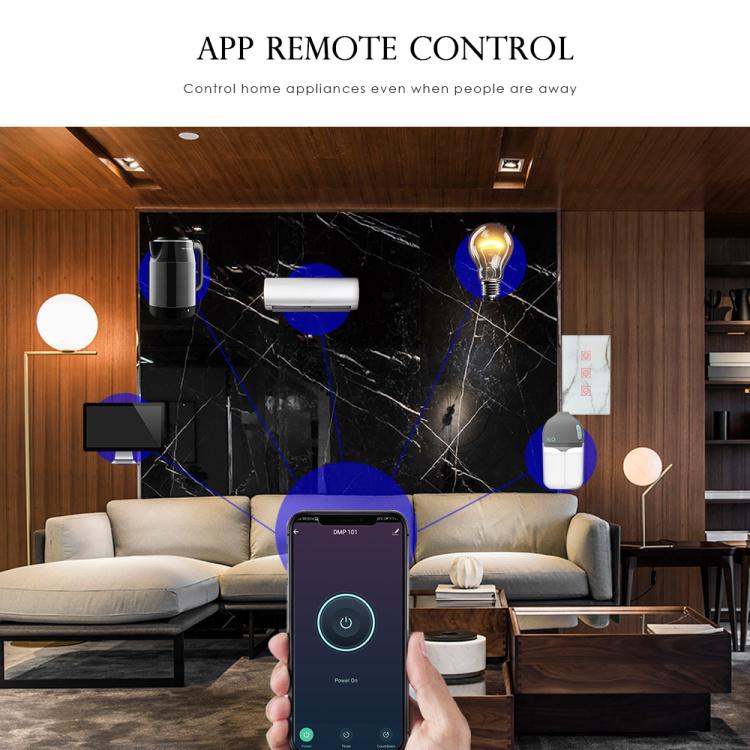 Smart Light Switch Wi-Fi 4Gang Wireless Remote Control