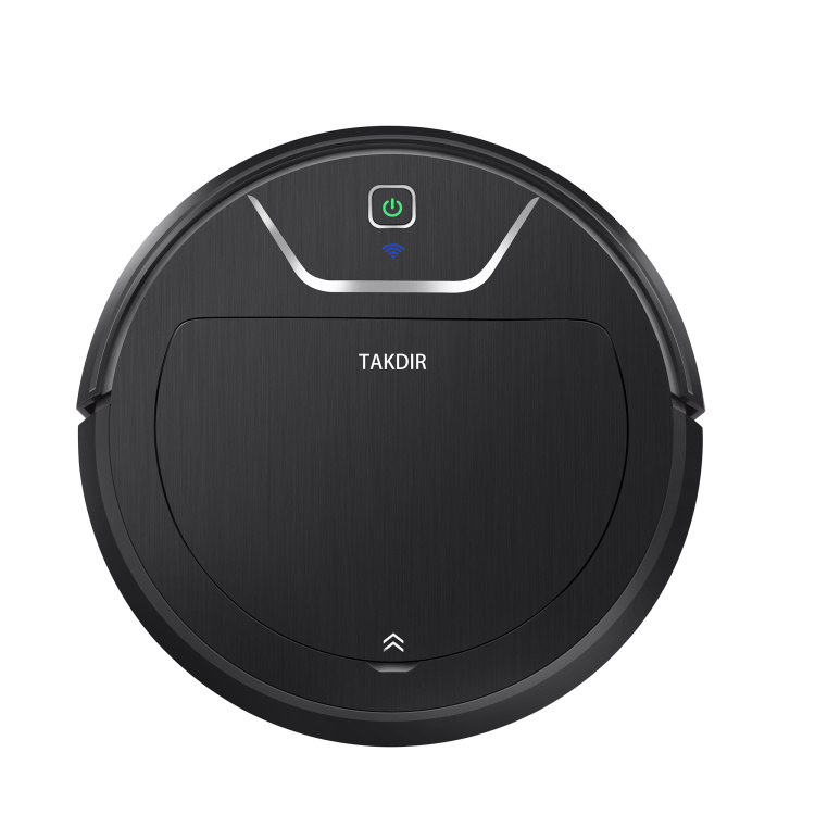 2000Pa Super Power Suction Wifi Floor Home Use Robot Cleaner