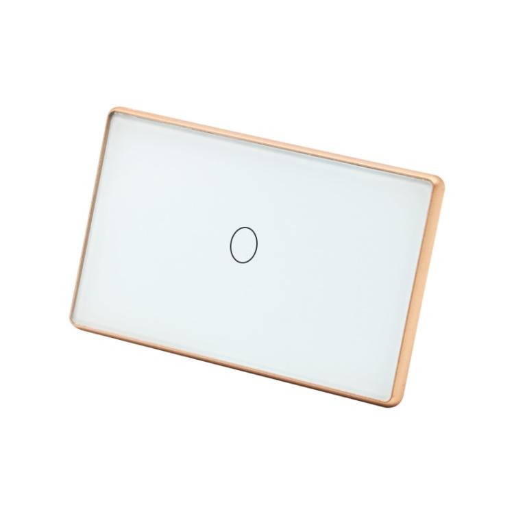Wi-Fi Smart Light Switch With Metal Frame