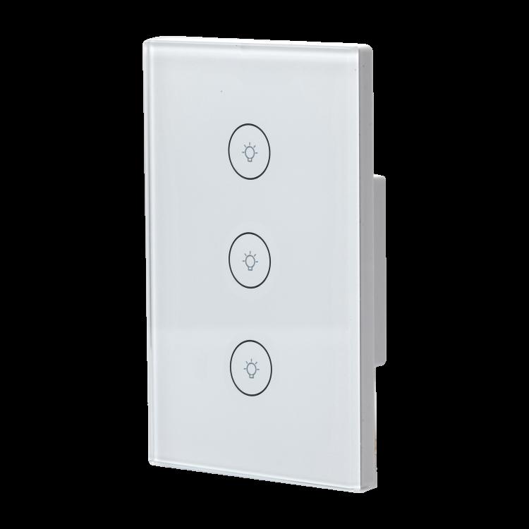 Smart Lighting Switch WIFI smart switch_3 GANG WIFI SWITCH_copy