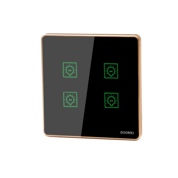 wifi smart light switch eu standard 4 gang switches voice app wireless control