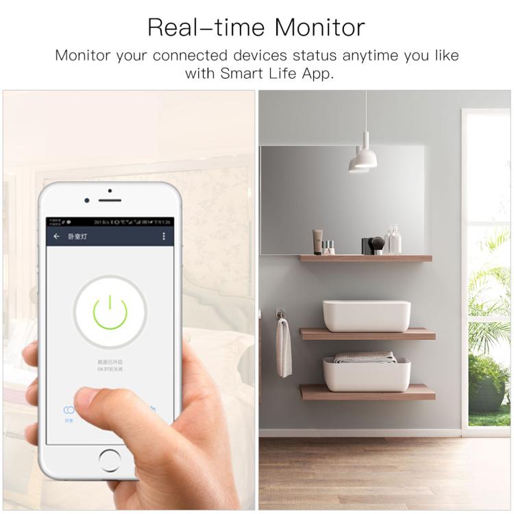 Wi-Fi+RF  DIY Wi-Fi Smart Light Switch