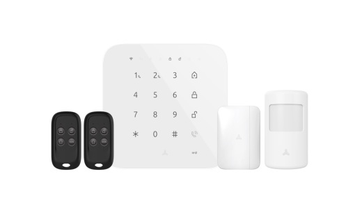 WiFi/4G/3G/2G Security Alarm System with Siren and Battery Backup