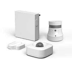 Zigbee Gateway smart set alarm smoke