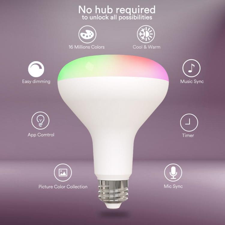 BR30 Smart RGB+CCT Bulb US