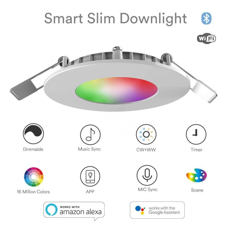 Smart SigMesh Downlight RGB+CCT