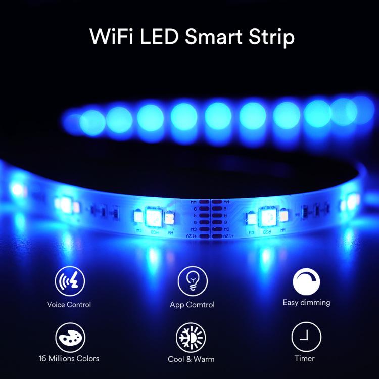 3m CCT+RGB Smart Strip