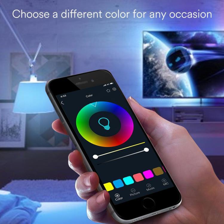 9W A19 CCT+RGB Smart Bulb
