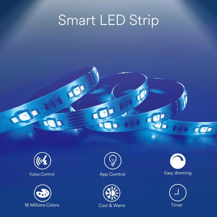 2m Smart LED Strip CCT+RGB