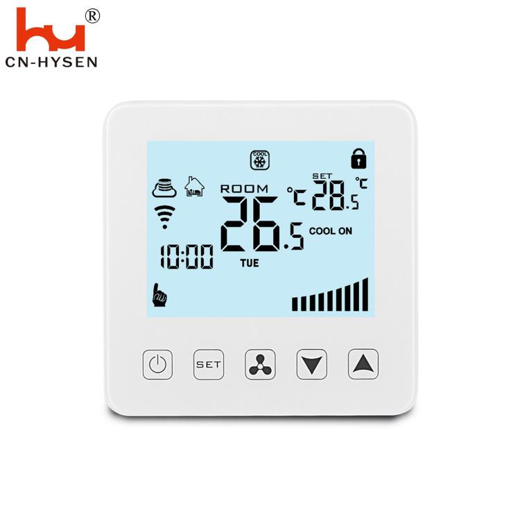 4 Pipes Digita LCD Fan Coil Units Wi-Fi Thermostat