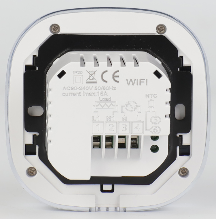 Wi-Fi Weekly Programmable Thermostat