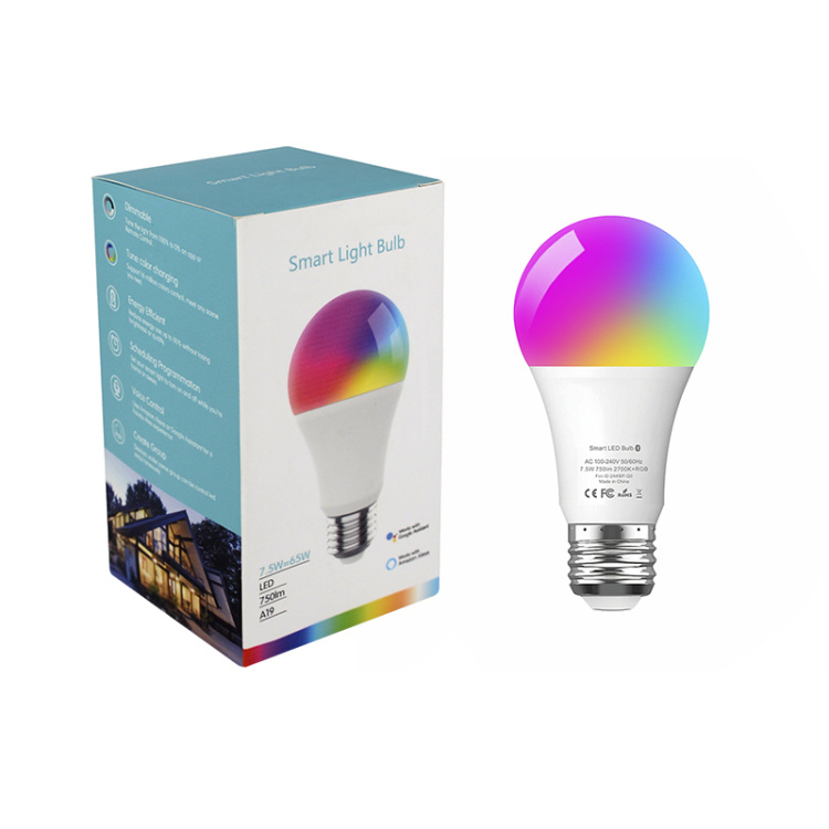 Hysiry BLE Mesh A19 Dimmable Smart LED Light Bulb