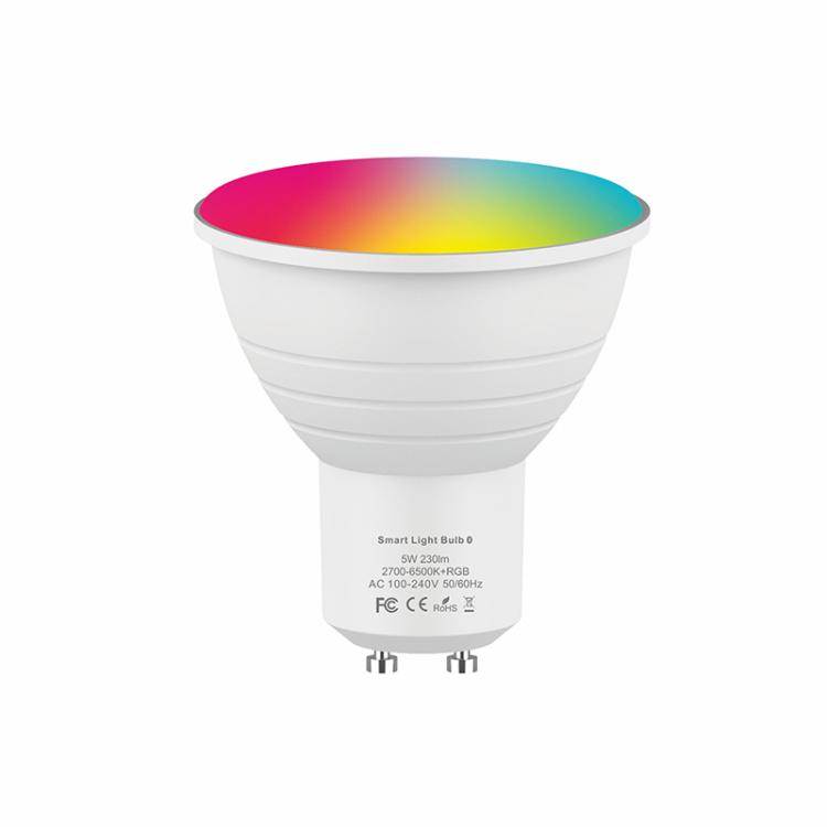Hysiry BLE Mesh GU10 Dimmable Smart LED Light Bulb