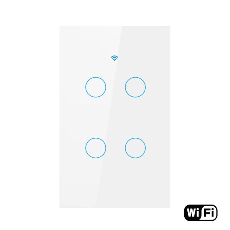 Wi-Fi Smart Switch 4-Gang